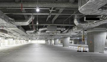 コンクリート構造物を守る地下防水工事